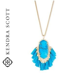 NWT Kendra Scott Betsy tassel statement necklace
